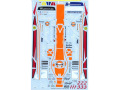 TABUデザイン 24040 1/24 マクラーレン F1-GTR Gulf #1/2/3 FIA-GT 1997 【メール便可】