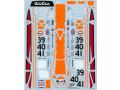 TABUデザイン 24043 1/24 マクラーレン F1-GTR Gulf #39/40/41 LM 1997 【メール便可】