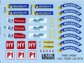 TABUデザイン 24083 1/24 Toyota TS050 LM2018 Option Decal (for Tamiya) 【メール便可】