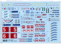 TABUデザイン 24087 1/24 Toyota TS050 LM2016 Full Sponsor Decal (for Tamiya) 【メール便可】