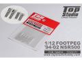 TOP STUDIO TD23171 1/12 Footpeg for 1994-2002 NSR500