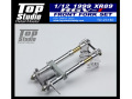 TOP STUDIO TD23180 1/12 1999 (XR89) RGV-ガンマ フロントフォークセット