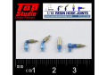 TOP STUDIO TD23192 1/12 (1.8mm) resin hose joints