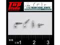 TOP STUDIO TD23193 1/12 (1.3mm) resin hose joints