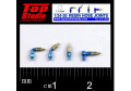 TOP STUDIO TD23199 1/24-20 (1.1mm) resin hose joints