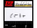 TOP STUDIO TD23200 1/24-20 (0.8mm) resin hose joints