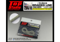 TOP STUDIO TD23202 0.8mm braided line(silver)