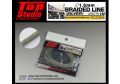 TOP STUDIO TD23204 1.5mm braided line(silver)