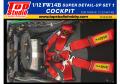 TOP STUDIO TD23226 1/12 Williamus FW14B Super Detail-up set 1 - Cockpit