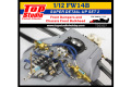 TOP STUDIO TD23227 1/12 Williams FW14B Super Detail-up set 2 - Furont Damper & Bulkhead