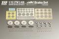 TOP STUDIO TD23258 1/12 Williamus FW14B Super Detail-up Set 3 - Brake Set