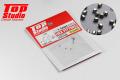 TOP STUDIO TD23260 1.1mm Hex Fitting  【メール便可】