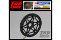 TOP STUDIO TD23279 1/12 Carbon Brake Disk Bolt for Racing Bike 【メール便可】
