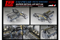 ** 予約商品 ** TOP STUDIO TD23280 1/12 Williams FW14B Super Detail-up Set 6A - Engine RS3C (Early Type)