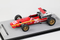 Tecno Model TM18-132A 1/18 Ferrari 312F1/68 French GP 1968 #26 Jacky Ickx Winner