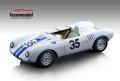 ** 予約商品 ** Tecno Model TM18-141A 1/18 Porsche 550A Le Mans 1957 #35