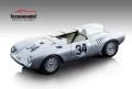 ** 予約商品 ** Tecno Model TM18-141B 1/18 Porsche 550A Le Mans 1957 #34