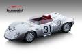 ** 予約商品 ** Tecno Model TM18-145A 1/18 Porsche 718 RSK Le Mans 1959 #31