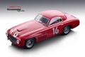 ** 予約商品 ** Tecno Model TM18-155B 1/18 Ferrari 166S Coupe Allemano Mille Miglia 1948 #16 Winner