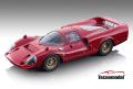 ** 予約商品 ** Tecno Model TM18-255A 1/18 Ferrari 365 P2/3 Drogo Press 1967 Rosso Corsa