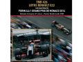TAMEO TMK426 Lotus Renault E22 Monaco GP 2014 Grojean /Mardonado