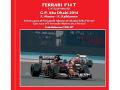 TAMEO TMK427 Ferrari F14T Abu Dhabi GP 2014 F.Alonso /K.Raikkonen