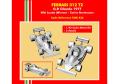 TAMEO kit TMK436 Ferrari 312T2 Olanda GP 1977 N.Lauda / C.Reutemann