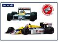 TAMEO kit TMK438 Williams Honda FW11B British GP 1987 N.Mansell (Winner) / N.Piquet