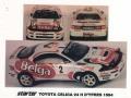 STARTER TOY004 トヨタ CELICA BELGA HYPRES 1994