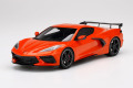 TOP SPEED TS0285 1/18 Chevrolet Corvette Stingray 2020 High Wing Sebring Orange Tintcoat