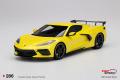 ** 予約商品 ** TOP SPEED TS0286 1/18 Chevrolet Corvette Stingray Accelerate Yellow Metallic