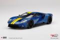 ** 予約商品 ** TOP SPEED TS0305 1/18 Ford GT Sunoco Blue / Yellow Stripe