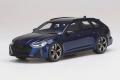 【お取り寄せ商品】 TOP SPEED TS0315 1/18 Audi RS 6 Avant Carbon Black Navarra Blue Metallic