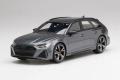 【お取り寄せ商品】 TOP SPEED TS0316 1/18 Audi RS6 Avant Carbon Black Daytona Gray