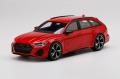 ** 予約商品 ** TOP SPEED TS0327 1/18 Audi RS6 Avant Carbon Black Tango Red