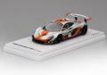 TRUE SCALE TSM430124 1/43 マクラーレン P1-GTR #13 2015 シルバー/オレンジ