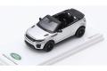 【お取り寄せ商品】 TSM Model TSM430156 1/43 Lenge Rover Evoque Convertible Indus Silver (ダイキャスト)