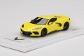 TSM Model TSM430496 1/43 Chevrolet Corvette Stingray Accelerate Yellow Metallic