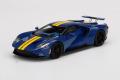 【お取り寄せ商品】 TSM Model TSM430524 1/43 Ford GT Sunoco Blue / Yellow stripe