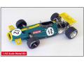 ** 予約商品 ** TAMEO TWU030 Brabham Ford BT33 South Africa GP 1970 J.Brabham