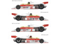 Vector Magic Decals D20-007 1/20 McLaren M23 1976-1977 【メール便可】