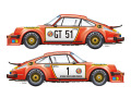 Vector Magic Decals D24-008 1/24 Porsche 934 RSR 1976 European GT Nurburgring ADAC 300km 【メール便可】