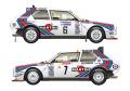 VM Decals D24-011 1/24 Delta S4 038 1985 RAC Rally Winner / 1986 Monte Carlo Rally Winner 【メール便可】