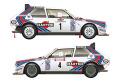 VM Decals D24-012 1/24 Delta S4 038 1986 Costa Smerald Rally Winner / 1986 Tour de Corse 【メール便可】