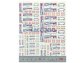 Virages Decal 169 Le Mans plate 2000 1/43, 1/32, 1/24, 1/18 【メール便可】