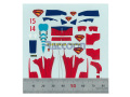 Virages Decal 226 1/43 Red Bull Superman 【メール便可】