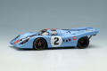** 予約商品 ** VISION VM211A Porsche 917K Gulf Racing - John Wyer Automotive Daytona 24h 1971 No.2 Winner Limited 180pcs