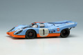 ** 予約商品 ** VISION VM211B Porsche 917K Gulf Racing - John Wyer Automotive Daytona 24h 1971 No.1 Limited 100pcs