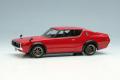 ** 予約商品 ** VISION VM243C Nissan Skyline 2000 GT-R (KPGC110) 1973 (RS Watanabe 8 spoke) Red