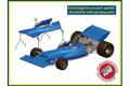 TAMEO kit WCT71 Tyrrell Ford 003 Monaco GP 1971 Winner J.Stewart - F.Cevert